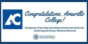 Amarillo College, Leah Meyer Austin Award
