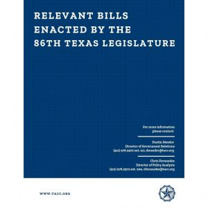 Relevant Bills Title Page