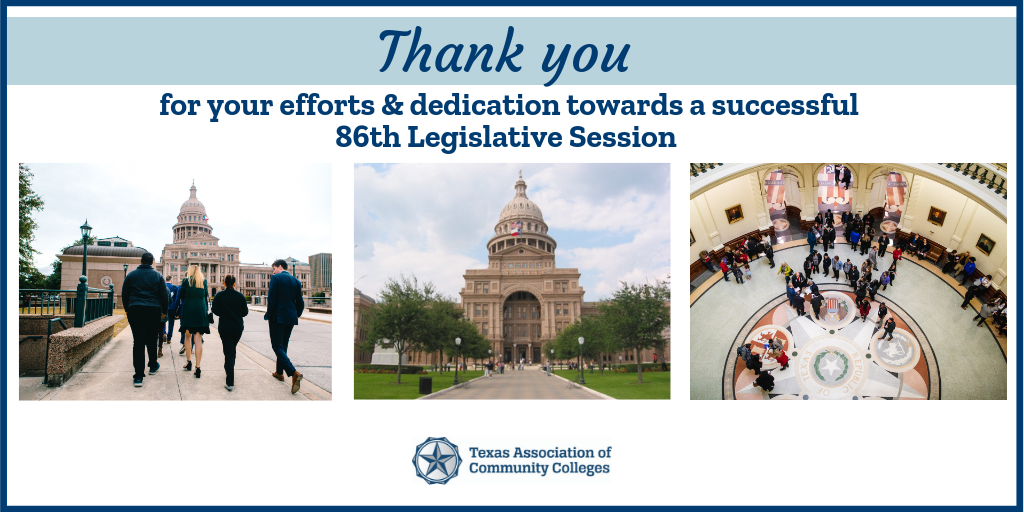 86th TXLege Thank you
